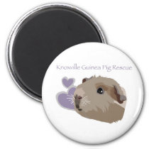 Knoxville Guinea Pig Rescue Magnet
