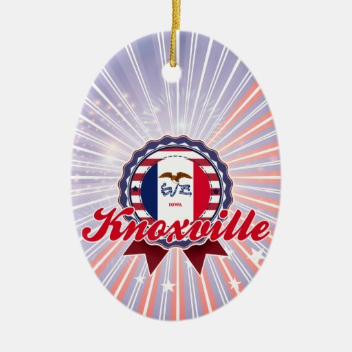 Knoxville, IA Ornament