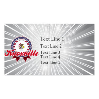 Knoxville, IL Double-Sided Standard Business Cards (Pack Of 100)
