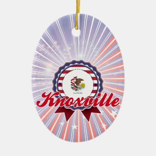 Knoxville, IL Christmas Tree Ornaments