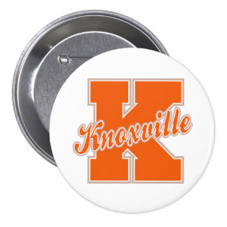 Knoxville Letter Pinback Button