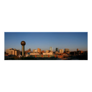 Knoxville Panoramic Poster