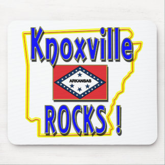 Knoxville Rocks ! (blue) Mouse Pad