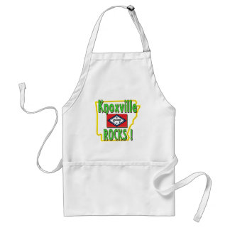 Knoxville Rocks ! (green) Adult Apron