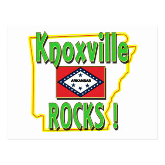 Knoxville Rocks ! (green) Postcard