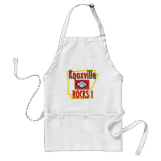Knoxville Rocks ! (red) Adult Apron