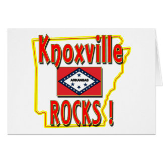 Knoxville Rocks ! (red) Card
