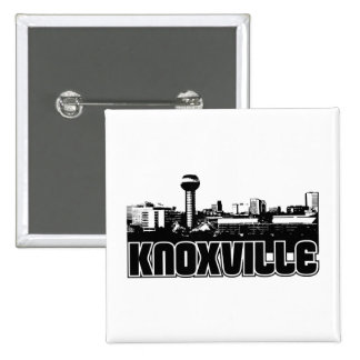 Knoxville Skyline Button