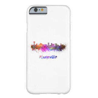 Knoxville skyline in watercolor barely there iPhone 6 case