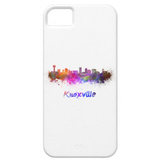 Knoxville skyline in watercolor iPhone SE/5/5s case