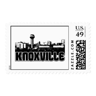 Knoxville Skyline Postage Stamps