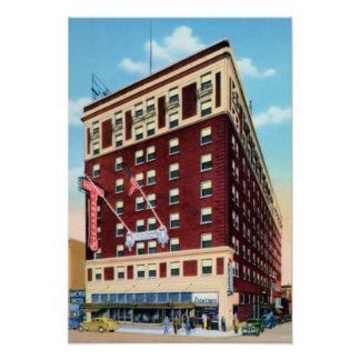 Knoxville Tennessee Farragut Hotel Posters