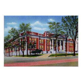 Knoxville Tennessee Knoxville High School Poster