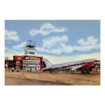 Knoxville Tennessee McGhee Tyson Airport Poster
