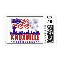 Knoxville Tennessee Patriotic Postage