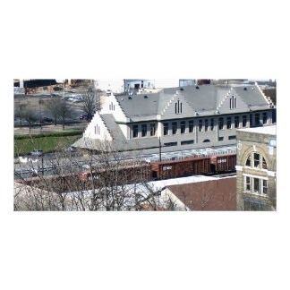 Knoxville Tennessee Train Station Custom Photo Card
