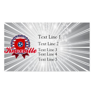 Knoxville, TN Double-Sided Standard Business Cards (Pack Of 100)