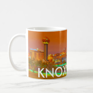 KNOXVILLE TN CLASSIC WHITE COFFEE MUG