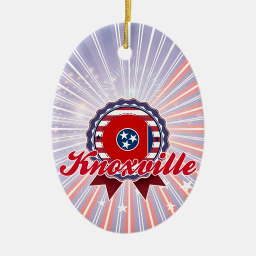 Knoxville, TN Christmas Ornament