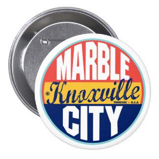 Knoxville Vintage Label Pinback Button