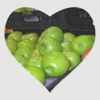 Knoxville zoo 031.JPG-apples fruit for decor Heart Sticker