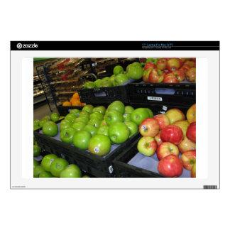 """Knoxville zoo 031.JPG-apples fruit for decor Skin For 17"""" Laptop"""