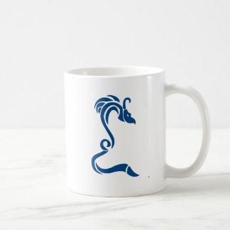 Knucker the Blue Dragon Coffee Mug