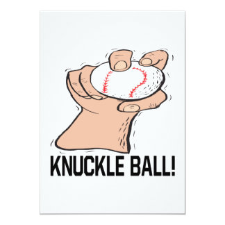 Knuckle Ball Card