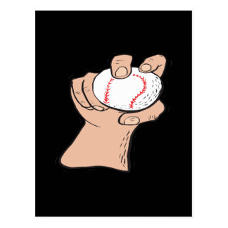 Knuckle Ball Postcard