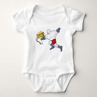 Knuckle Sandwich Baby Bodysuit