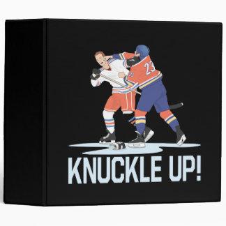 Knuckle Up 3 Ring Binder