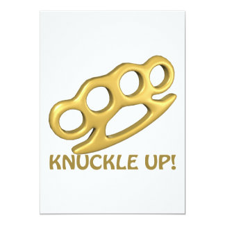 Knuckle Up Card