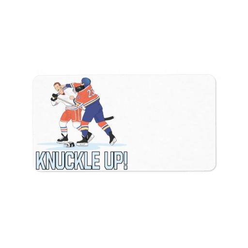 Knuckle Up Label