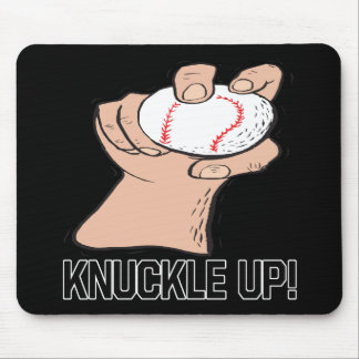 Knuckle Up Mouse Pad