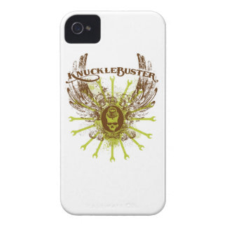 """Knucklebuster """"Wings"""" iPhone 4 Case"""