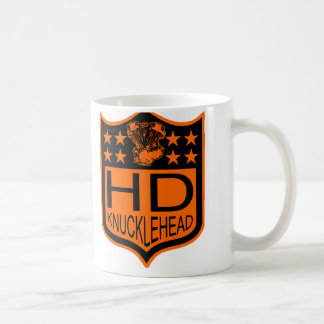 Knucklehead Shield Coffee Mug