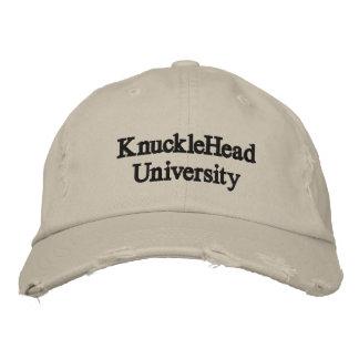 KnuckleHead University Embroidered Baseball Hat
