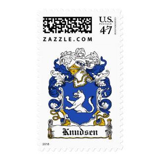 Knudsen Family Crest Postage