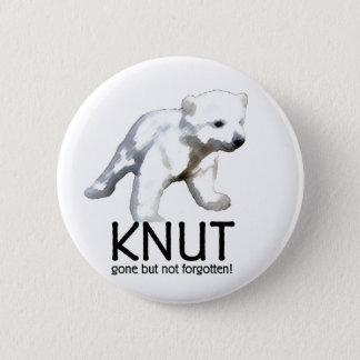 Knut Polar Bear Button