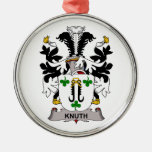 Knuth Family Crest Ornaments