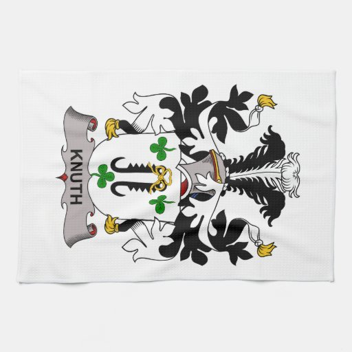 Knuth Family Crest Towels