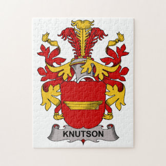 Knutson Family Crest Jigsaw Puzzle