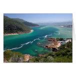 Knysna Lagoon, Garden Route, Western Cape Card