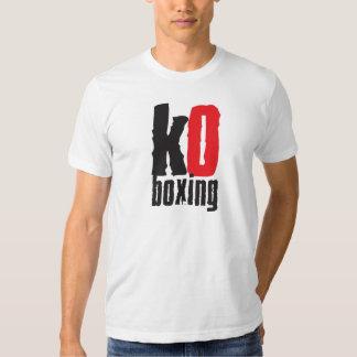 KO Boxing T Shirt Clasic British Boxers