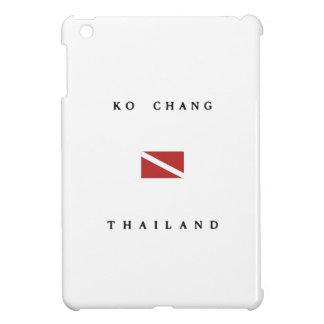 Ko Chang Thailand Scuba Dive Flag iPad Mini Covers