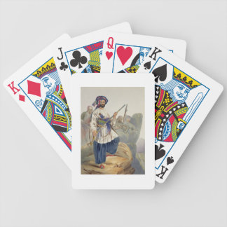 Ko-i-Staun Foot Soldiery in Summer Costume, Active Bicycle Playing Cards