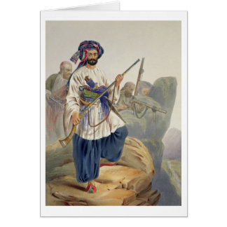 Ko-i-Staun Foot Soldiery in Summer Costume, Active Card