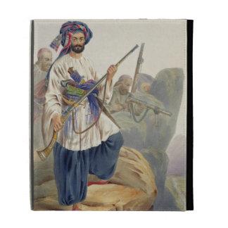 Ko-i-Staun Foot Soldiery in Summer Costume, Active iPad Folio Covers