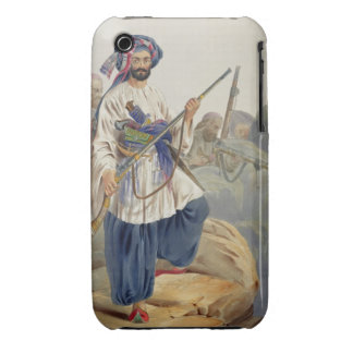 Ko-i-Staun Foot Soldiery in Summer Costume, Active iPhone 3 Case-Mate Cases