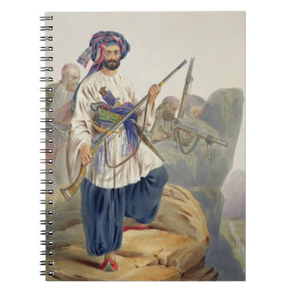 Ko-i-Staun Foot Soldiery in Summer Costume, Active Notebook